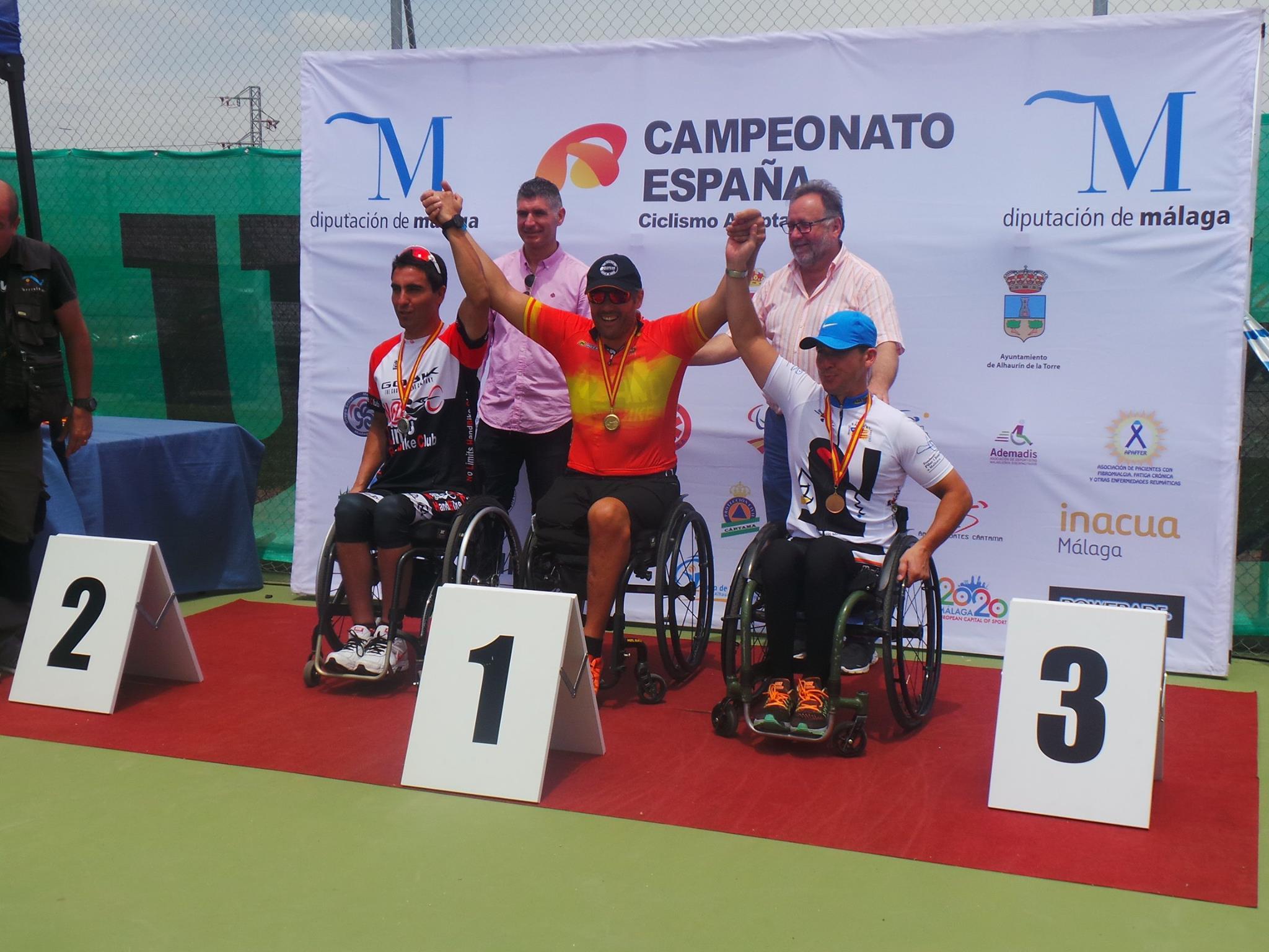 Cto. España Ciclismo Adaptado Carretera 2017 (I)
