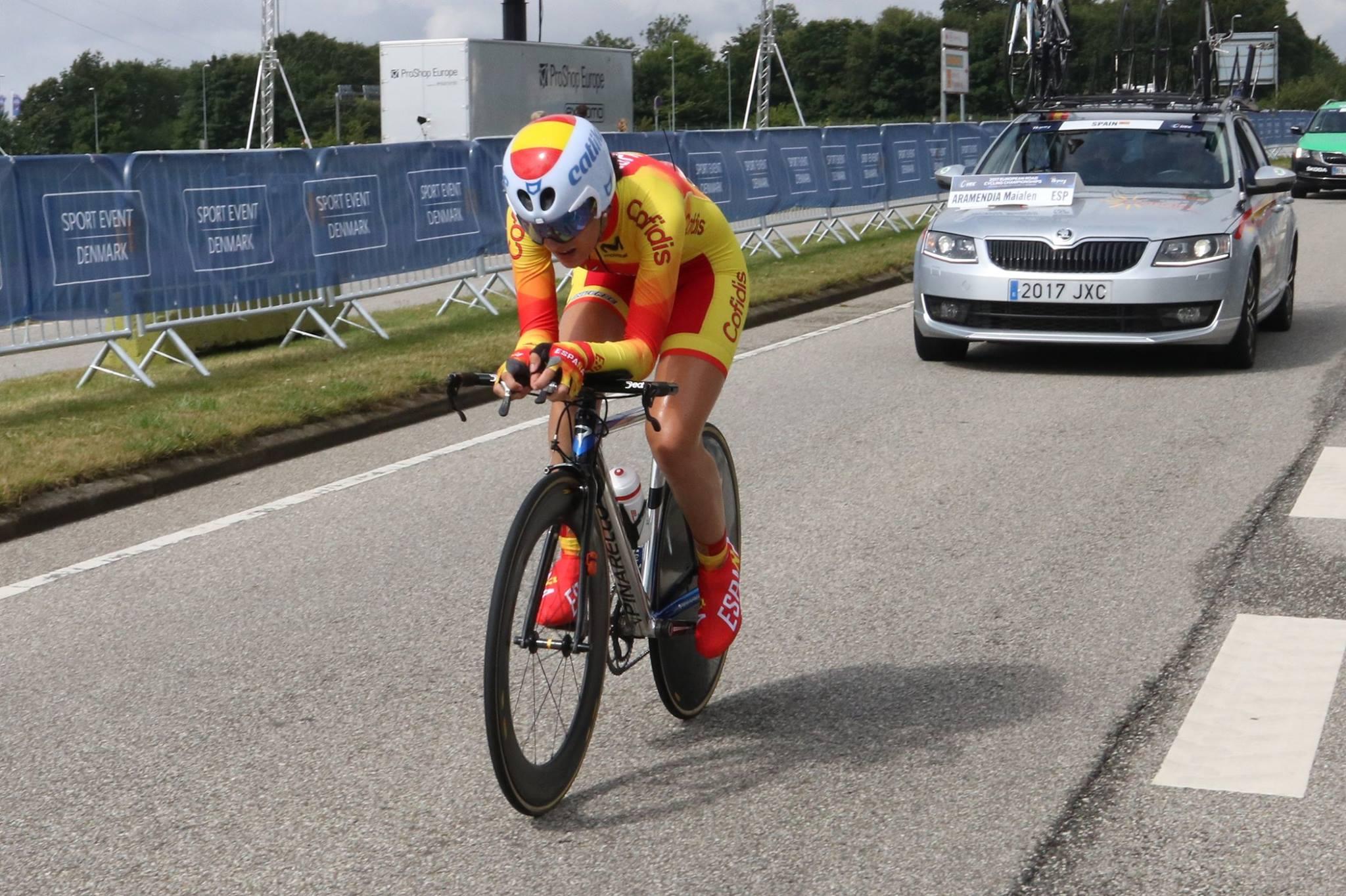 #TeamESPciclismo / Europeo Carretera / Dinamarca / 2017