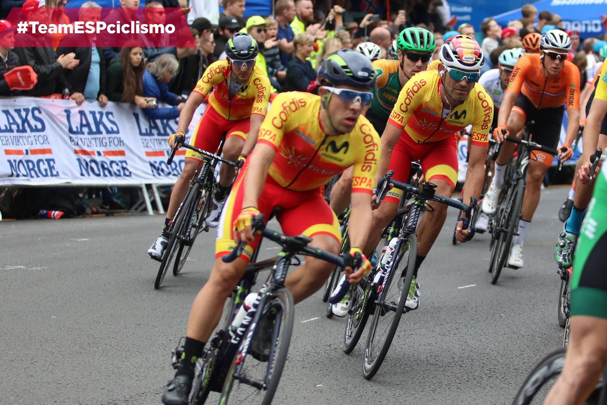 #TeamESPciclismo / Mundial Ciclismo en Carretera / Bergen / 2017
