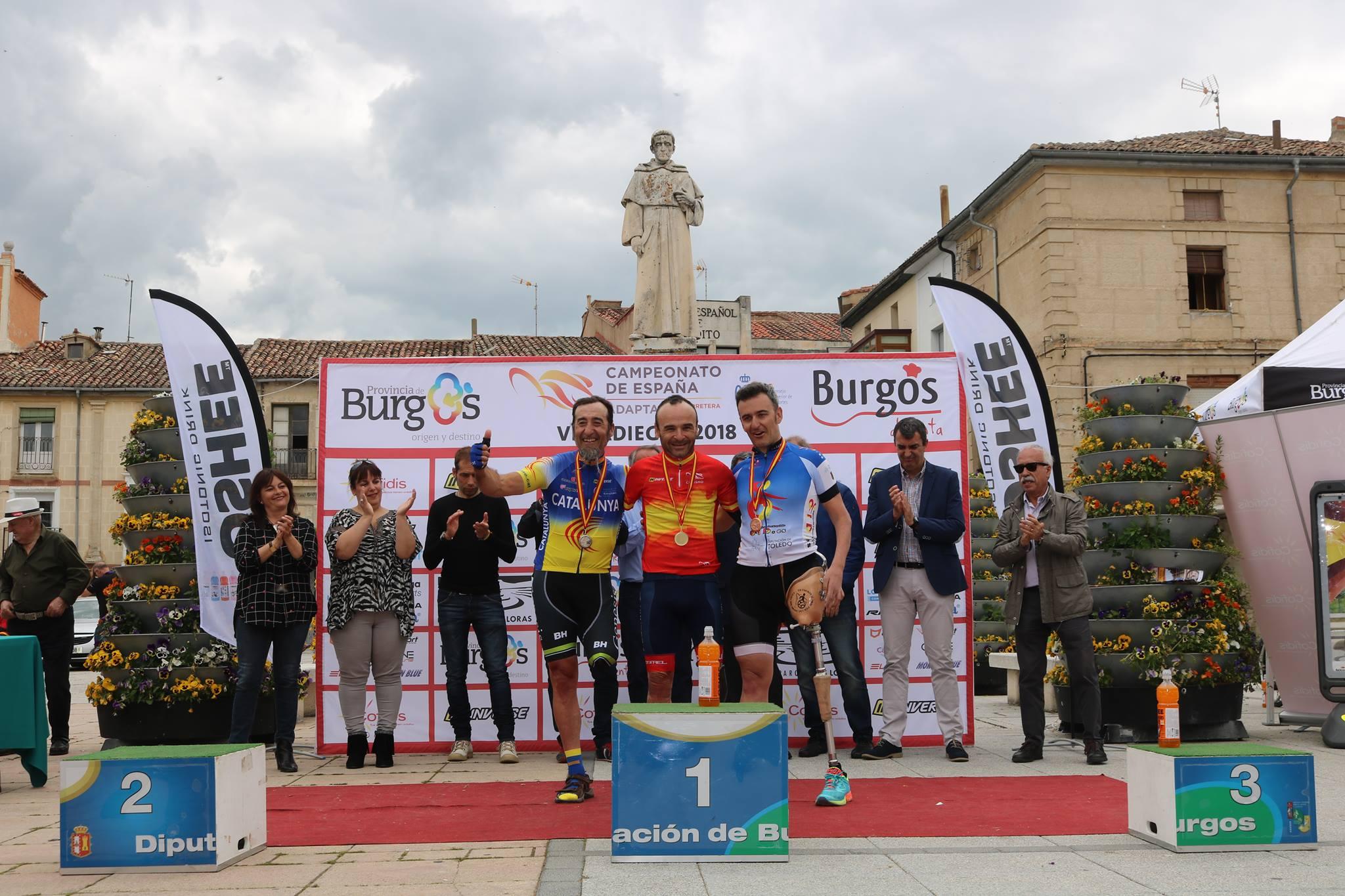 Cto. España Ciclismo Adaptado Villadiego 2018