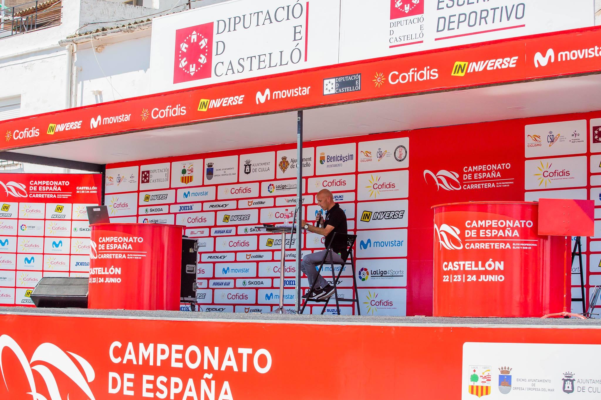 Campeonato España Profesional-Élite Hombres Mujeres y Sub23 2018