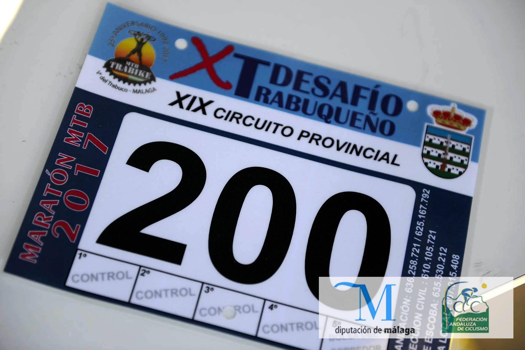 X DESAFIO TRABUQUEÑO MTB (25º ANIVERSARIO TRABIKE)