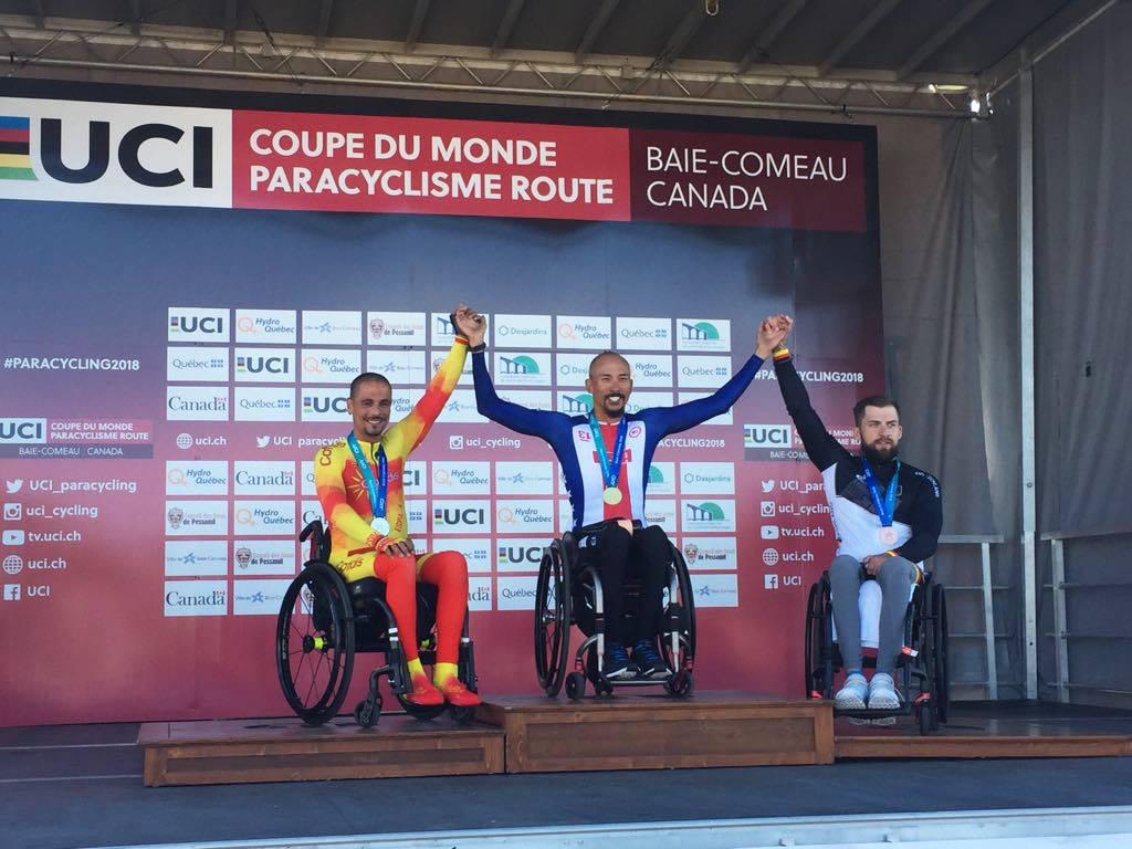 #TeamESPciclismo | Copa del Mundo Ciclismo Adap. Baie-Comeau 2018