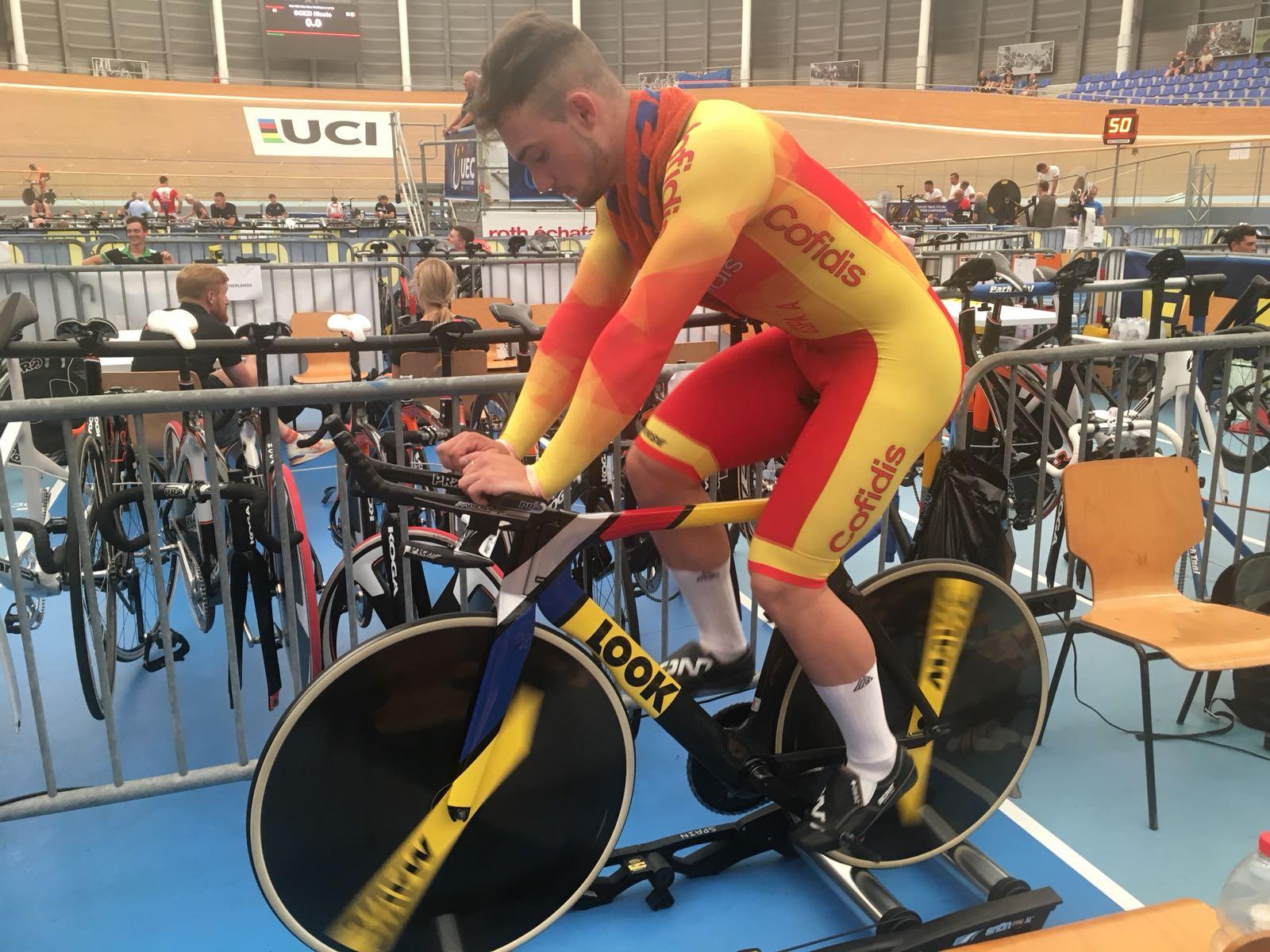 #TeamESPciclismo | Europeo de Pista Junior y Sub23 2018