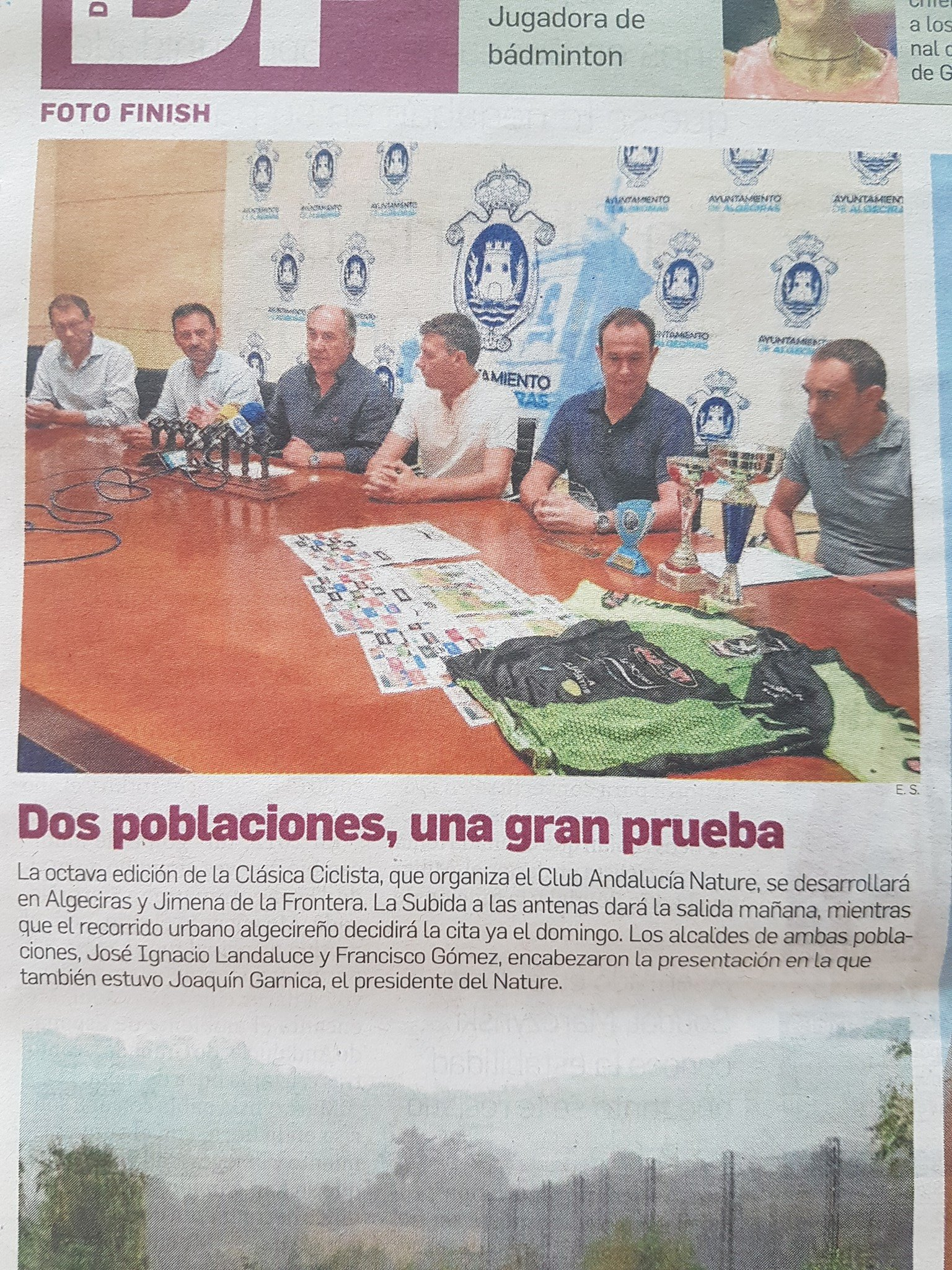 VUELTA ANDALUCIA NATURE: 1ª ETAPA - SUBIDA A LAS ANTENAS DE JIMENA