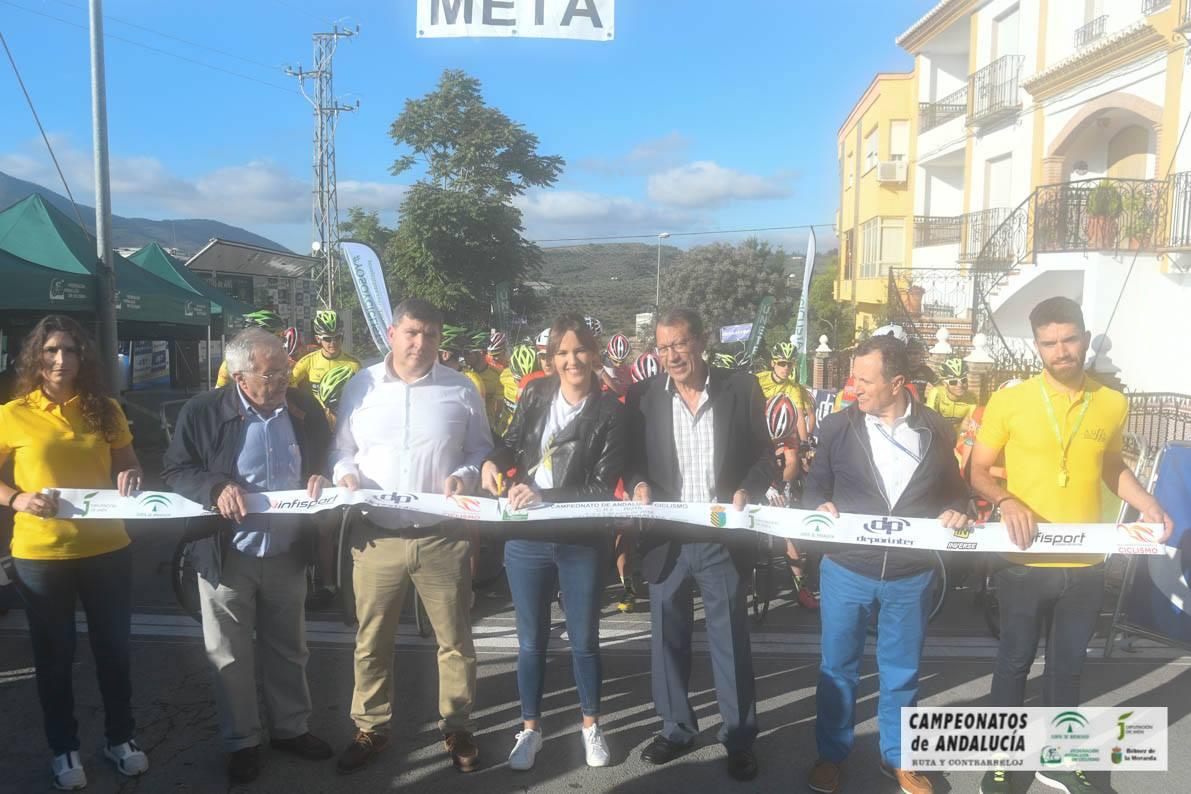 CAMPEONATO DE ANDALUCIA DE CICLISMO EN RUTA (JUNIOR)