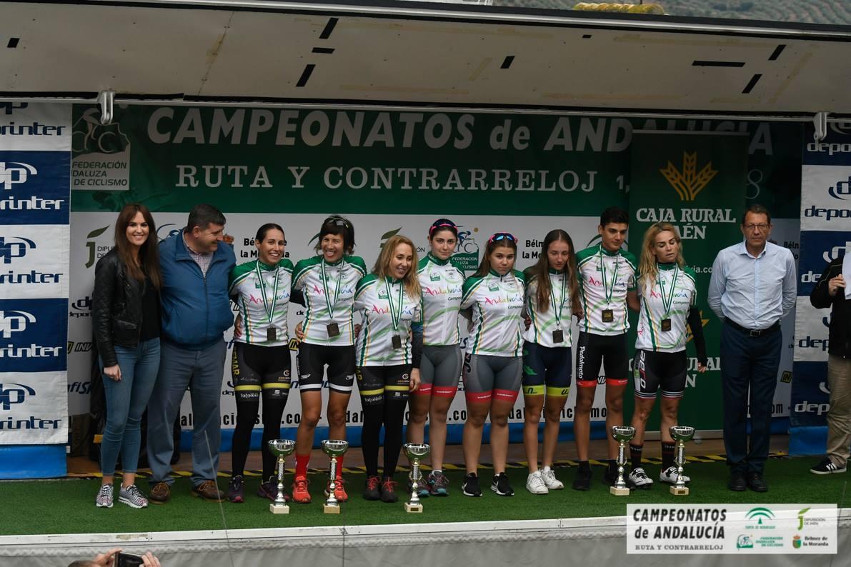 CAMPEONATO DE ANDALUCIA DE CICLISMO EN RUTA (CADETES Y FEMINAS)