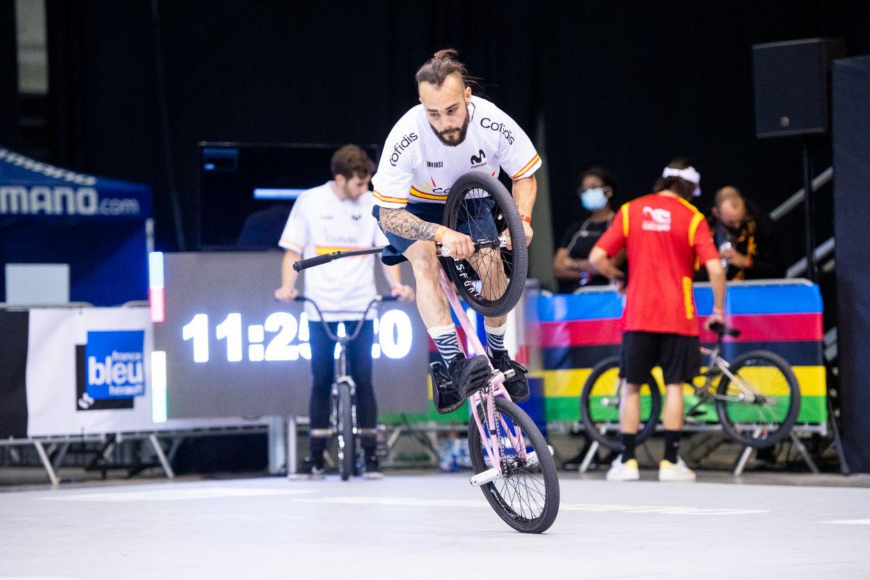 #TeamESPciclismo - Mundial BMX Freestyle, Montpellier 2021 (fotos: @theagency_photo)