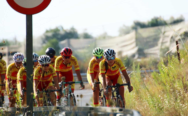 #TeamESPciclismo - Concentración féminas junior y sub23 de carretera Altea, julio 2020