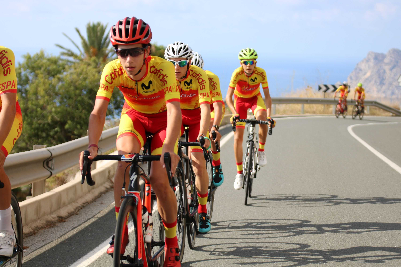 #TeamESPciclismo - Concentración junior masc. Altea, julio 2020