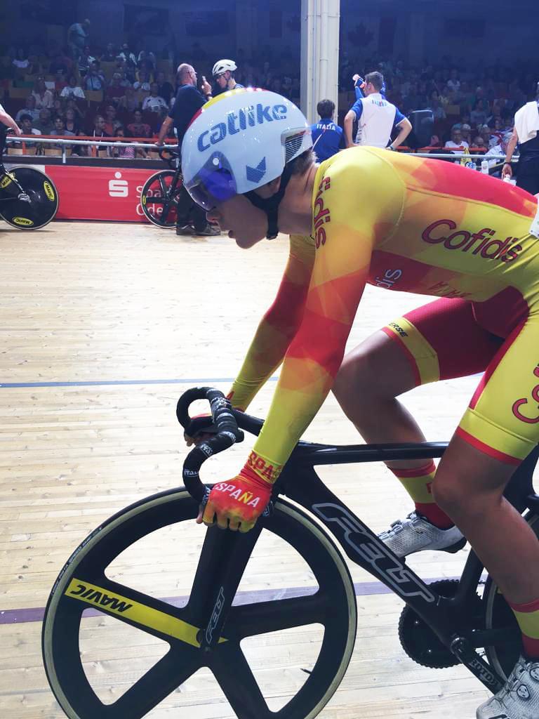 #TeamESPciclismo / Mundial Pista Junior Frankfurt 2019