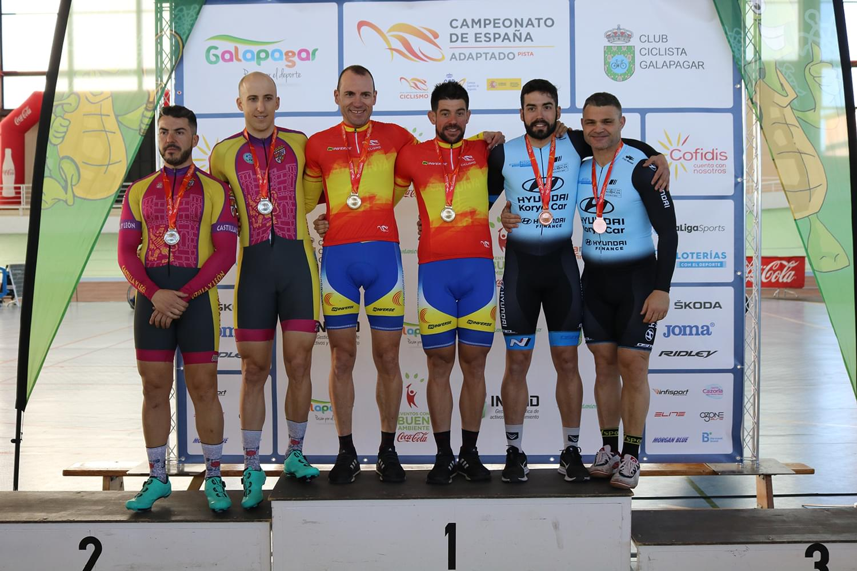 Campeonato de España Adaptado en Pista 2020 / Galapagar