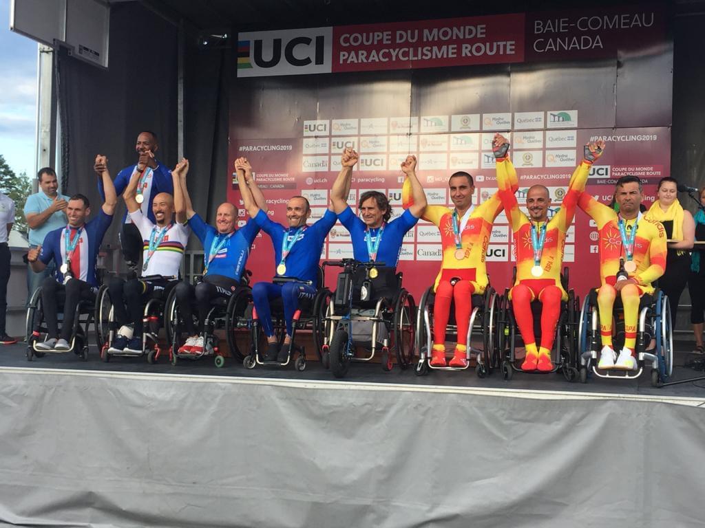 #TeamESPciclismo / Copa del Mundo Adaptado 2019 | Baie Comeau