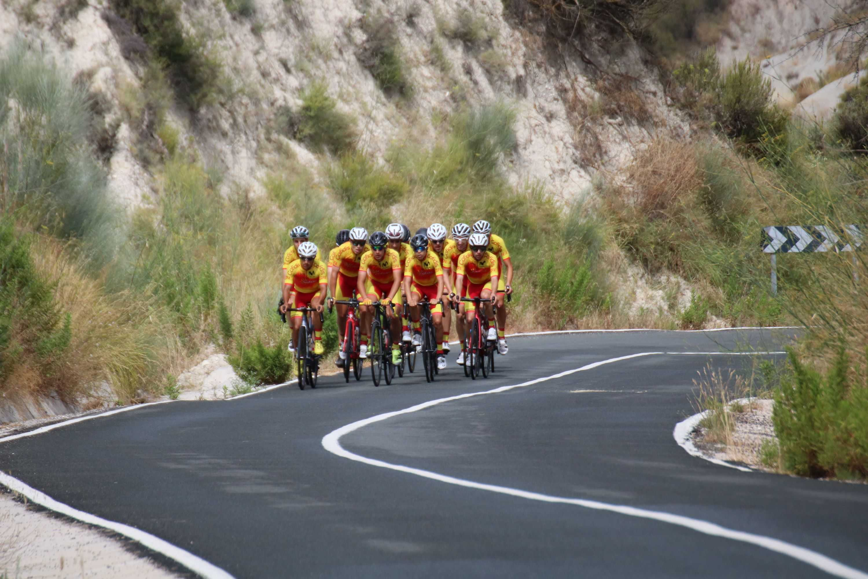 #TeamESPCiclismo - Concentración sub23 masc. Altea, julio 2020