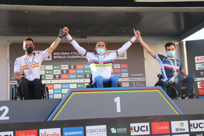 #TeamESPciclismo - Mundial Ciclismo Adaptado Carretera, Cascais 2021 (último día)