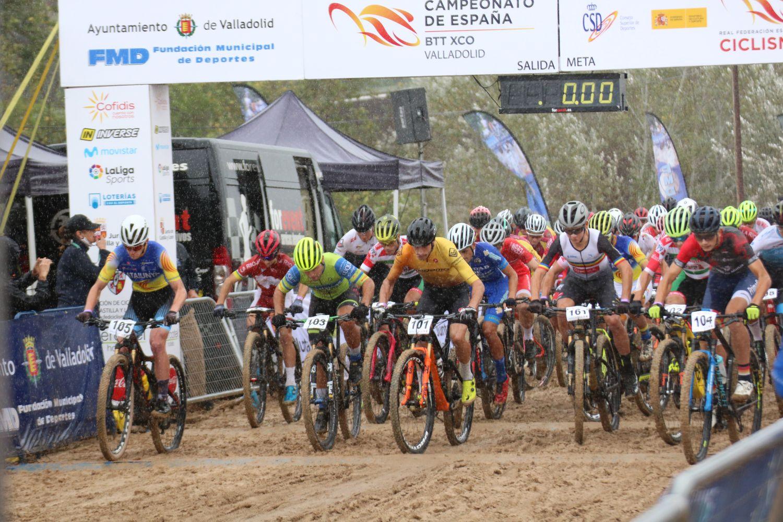 Campeonato de España de XCO de Valladolid 2020 - Carreras junior masc. y sub23 masc.