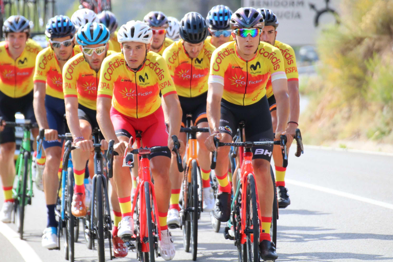 #TeamESPciclismo - Concentración élite masc. Altea, julio 2020