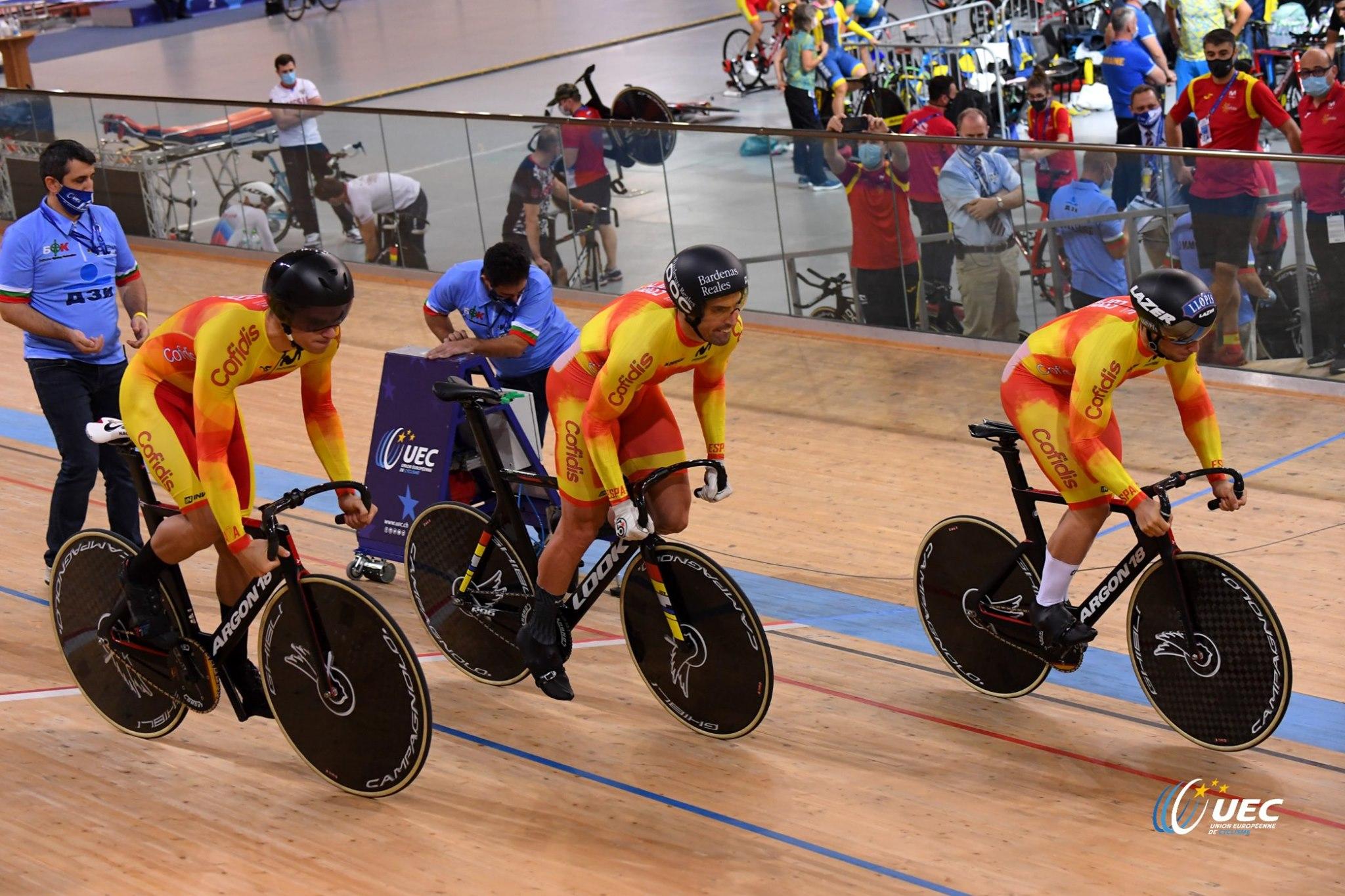 #TeamESPciclismo - Europeo Pista 2020 - Plovdiv, Bulgaria