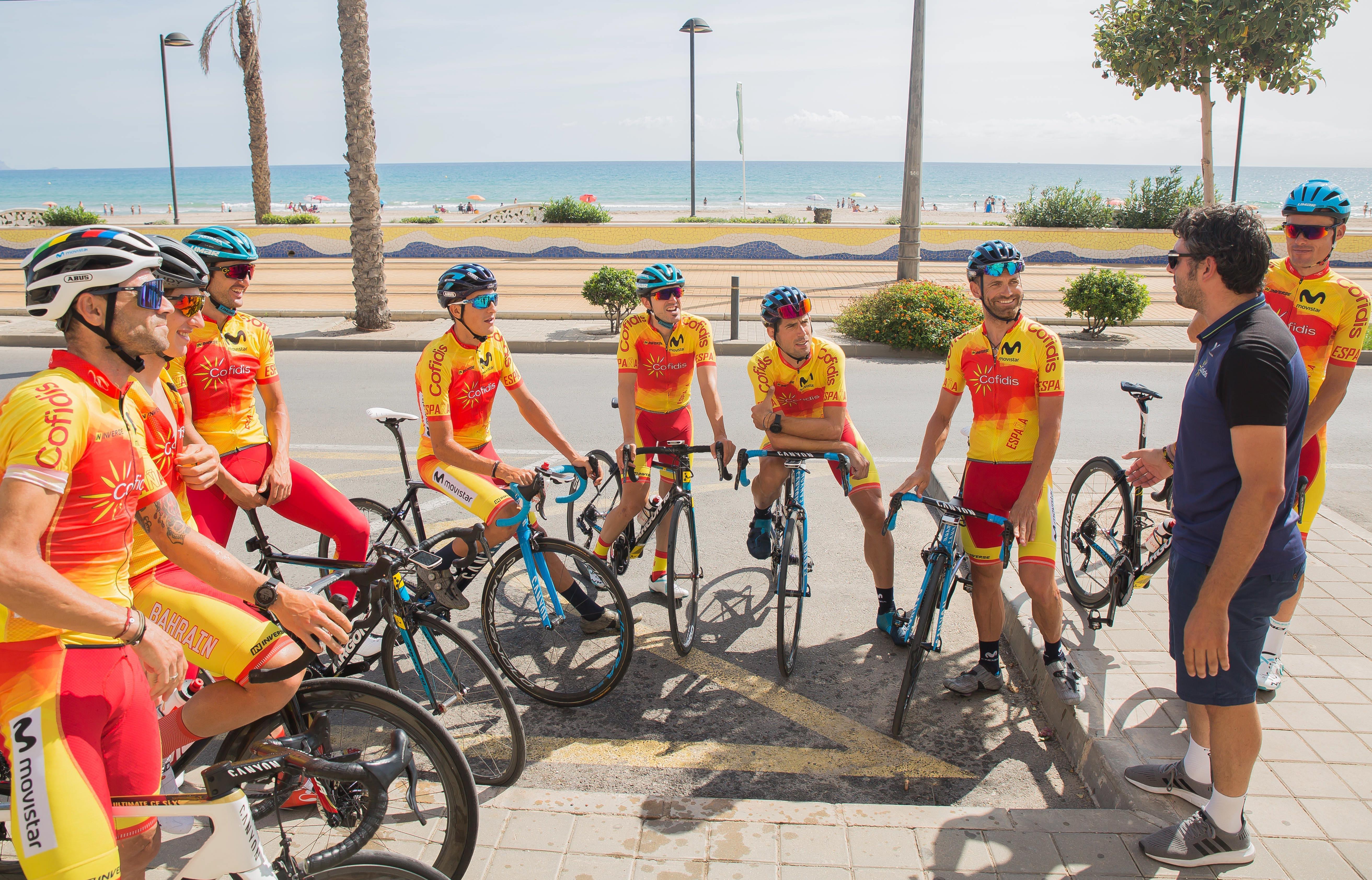 #TeamESPCiclismo / Concentración Élite previa Mundial Carretera 2019
