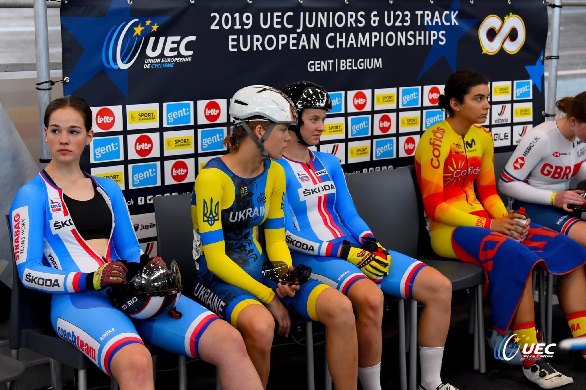 #TeamESPCiclismo / Europeo de Pista Junior-Sub23 2019