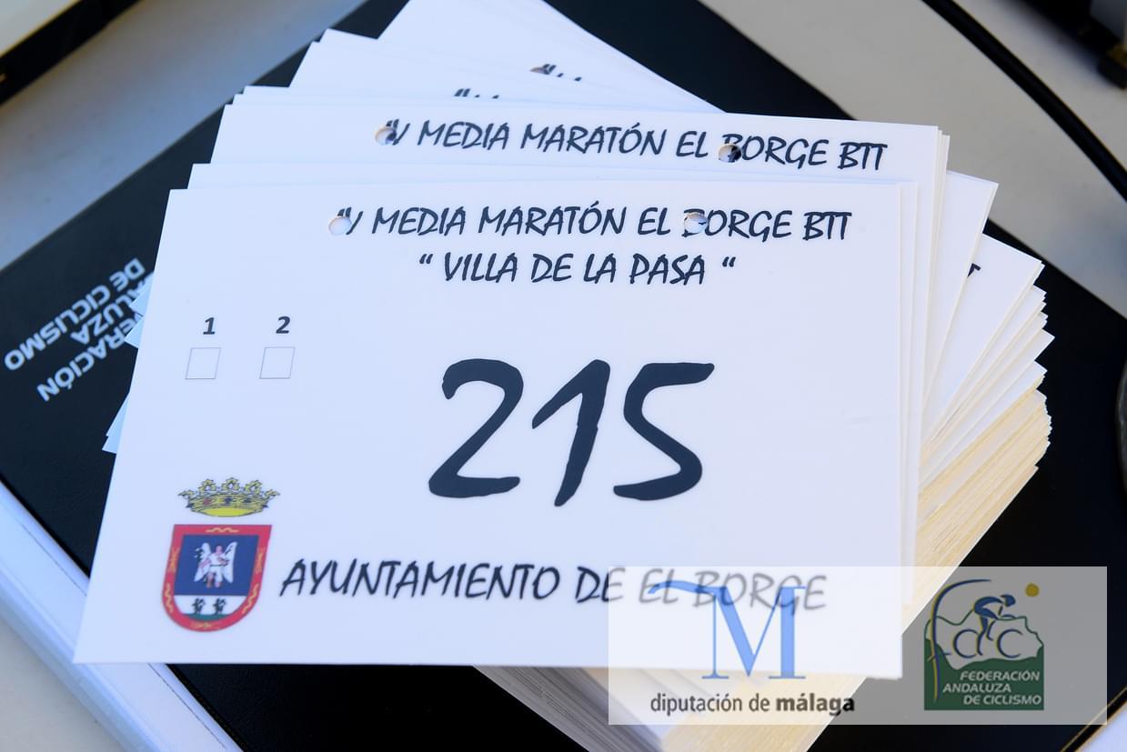 IV MEDIA MARATON BTT VILLA DE LA PASA EL BORGE