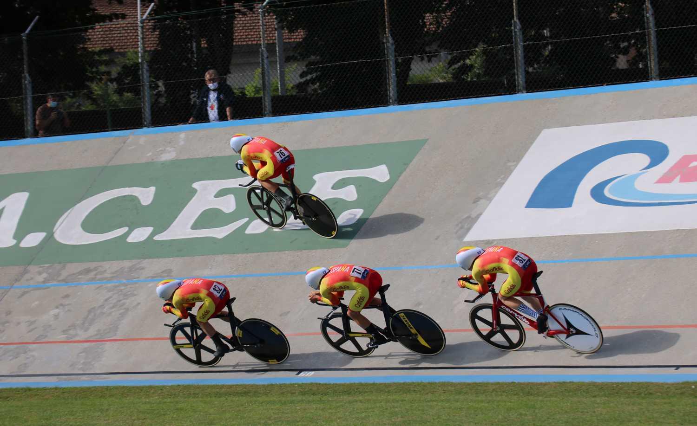 #TeamESPciclismo - Campeonato de Europa de Pista Junior-Sub23 2020 - Jueves 8 y viernes 9 de octubre