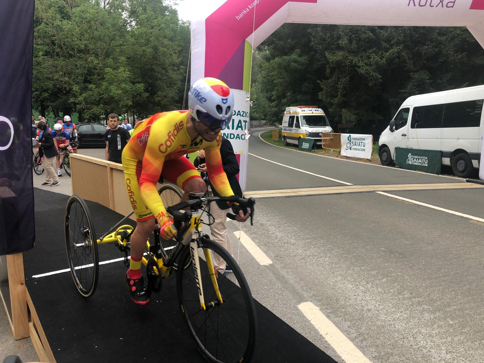 #TeamESPciclismo | Paracycling Bira
