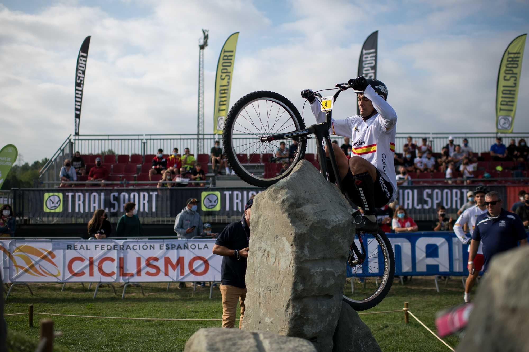 #TeamESPciclismo - Campeonato del Mundo de Trial 2021 - Vic