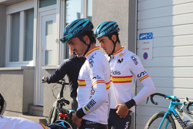 #TeamESPciclismo - Mundial carretera Flandes - Pruebas en ruta