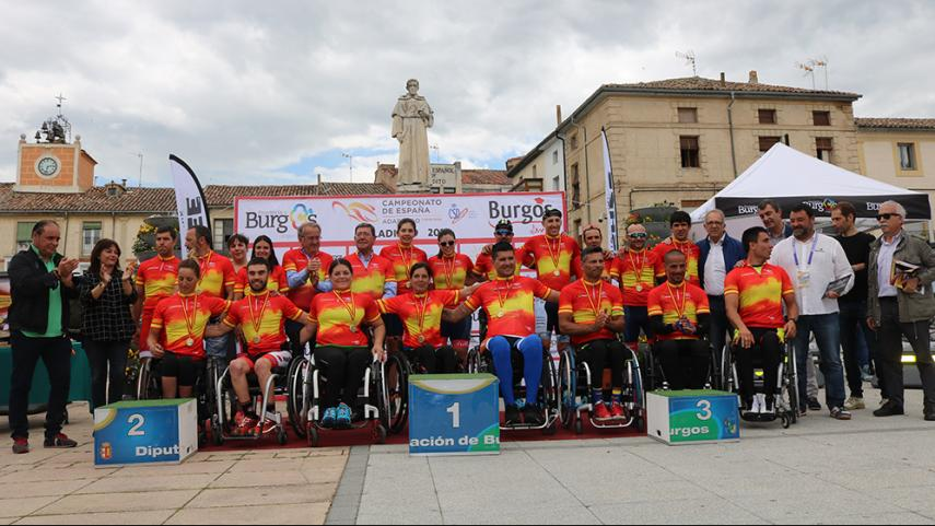 gran-exito-Campeonato-Espana-Ciclismo-Adaptado-Villadiego-2018