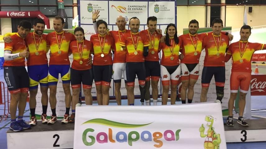 Galapagar-sede-este-fin-de-semana-del-Campeonato-de-Espana-de-Ciclismo-Adaptado-en-Pista