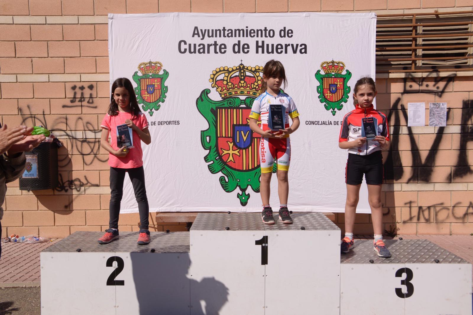 Yolanda Magallón y Félix Molina confirman su liderazgo en el Open de Aragón XCO