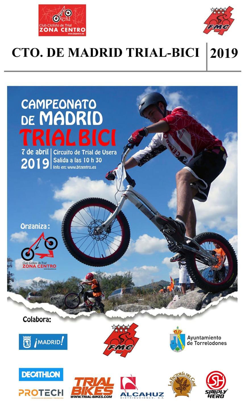 El barrio de Usera trae a escena este 7 de Abril el Campeonato de Madrid de Trial