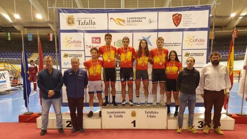 El-segundo-dia-del-nacional-de-pista-junior-y-cadete-entrega-9-nuevos-titulos-de-Campeon-de-Espana