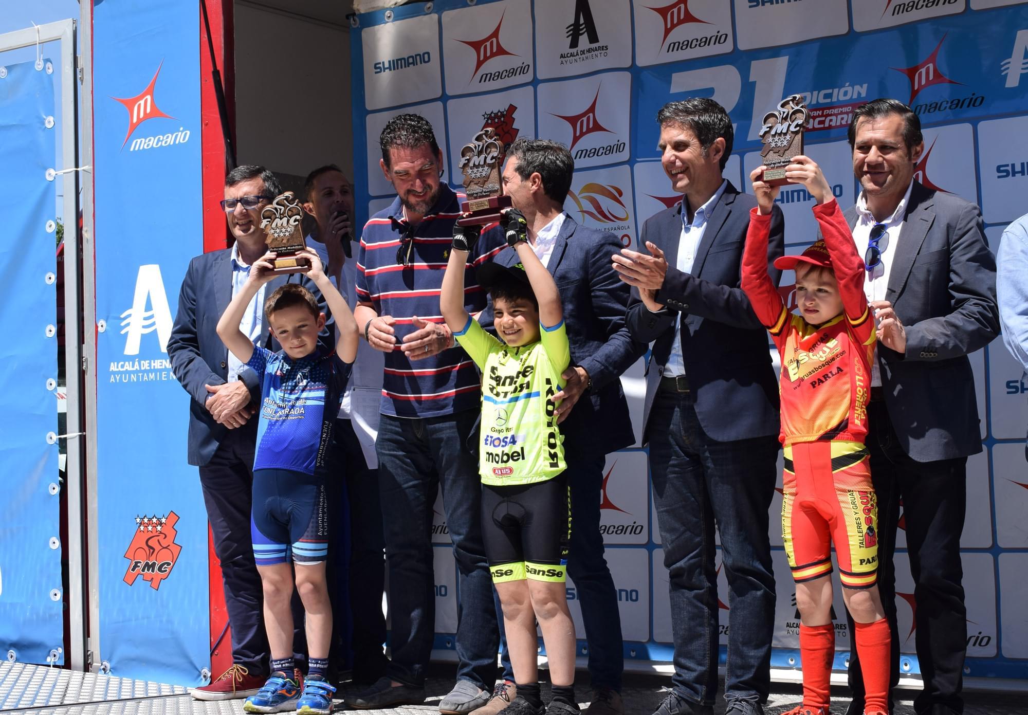 La UC Coslada se impuso en el III Trofeo Escolar-Gran Premio Shimano