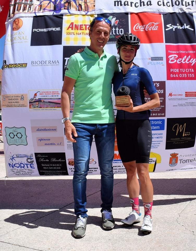 500 ciclistas rindieron homenaje en Torrelaguna a Antonio Martín Velasco