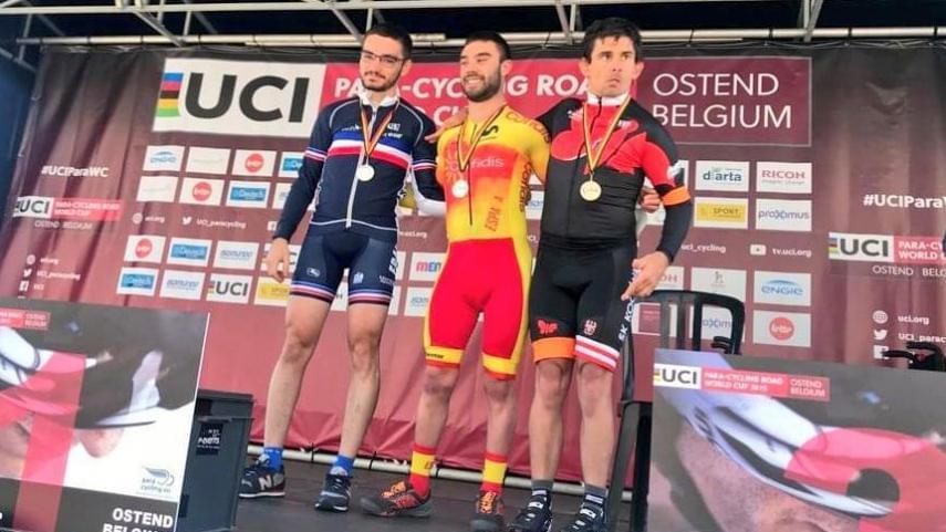 La-Seleccion-Espanola-se-estrena-en-la-Copa-del-Mundo-de-Ostende-con-tres-medallas