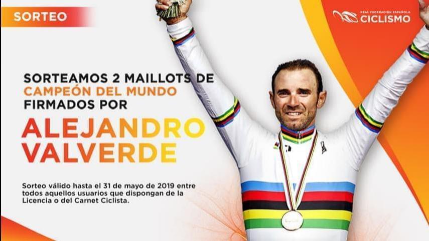 Ya-conocemos-los-ganadores-de-los-maillots-de-campeon-del-mundo-firmados-por-Alejandro-Valverde