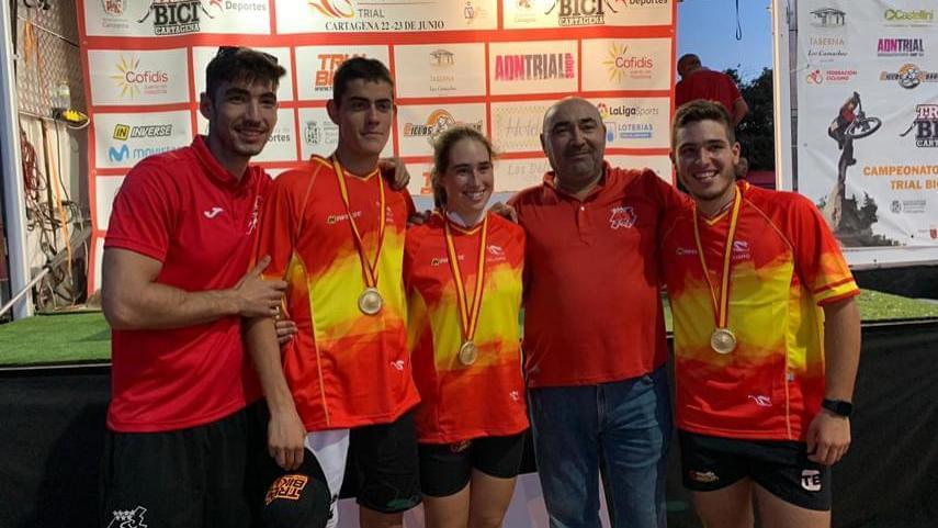 La-Seleccion-Madrilena-de-trial-se-corona-en-los-Campeonatos-de-Espana-con-siete-medallas