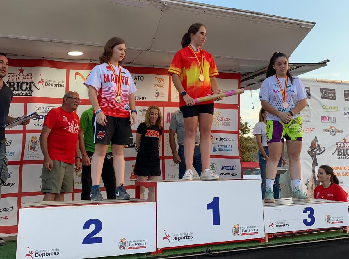 La Selección Madrileña de trial se corona en los Campeonatos de España con siete medallas (PROVISIONAL)