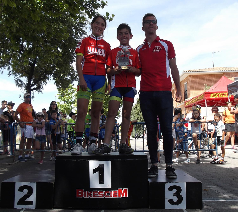 Ciempozuelos proclamó a los nuevos campeones de Madrid de ruta infantil y alevín