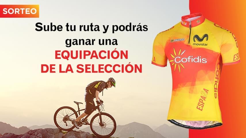 Daniel-LA�we-Romero-ganador-de-un-maillot-de-la-Seleccion-Espanola-gracias-a-subir-sus-#RutasCiclistas