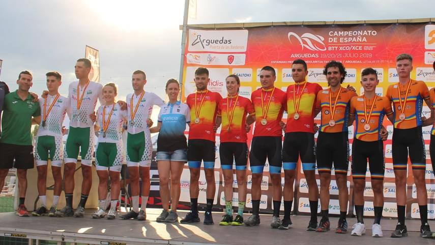 La-Seleccion-Andaluza-se-estrena-en-Arguedas-con-una-plata-en-Team-Relay