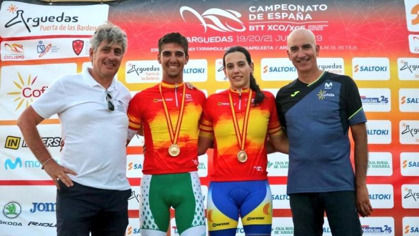 Magda-Duran-y-Alberto-Mingorance-campeones-de-Espana-de-XC-Eliminator-por-cuarta-vez