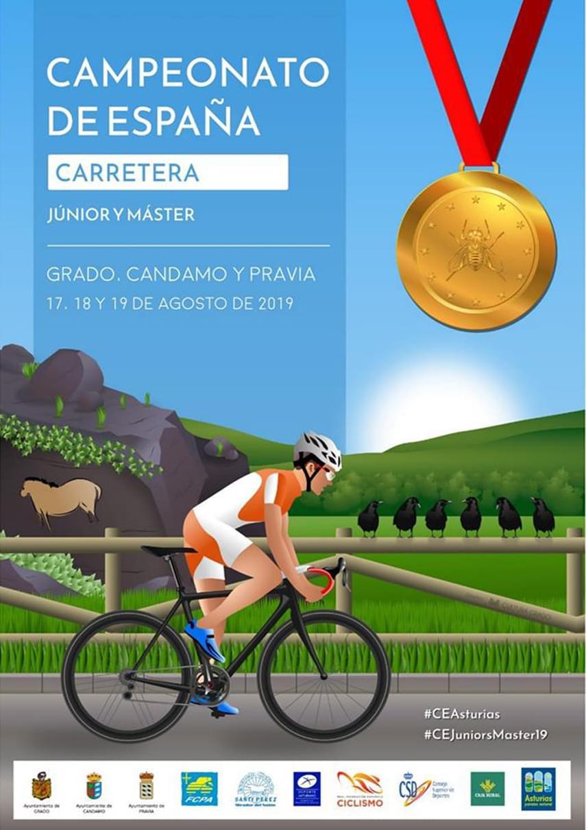 Asturias acoge los Nacionales de ruta junior con una Selección Madrileña que aspira a todo