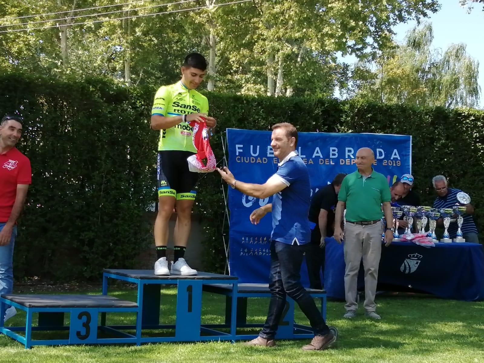 Carolina Esteban y Jorge García fueron lo más fuertes en la fiesta del ciclismo fuenlabreño