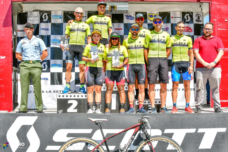 Más de 1.000 bikers pedalearon en la quinta prueba del Circuito Scott 7 Estrellas