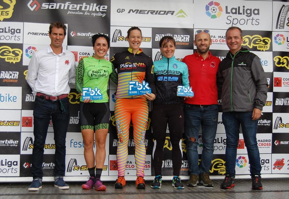 Las victorias de Aida Nuño e Iván Feijoo aperturan en Festibike la Copa Comunidad de Madrid Bioracer de ciclocross (ACTUALIZADA)