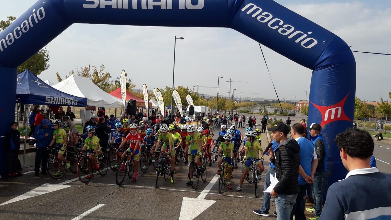Inés Méndez y Rubén Sánchez, los más fuertes en el IV Trofeo de Ciclismo Infantil de Villalbilla