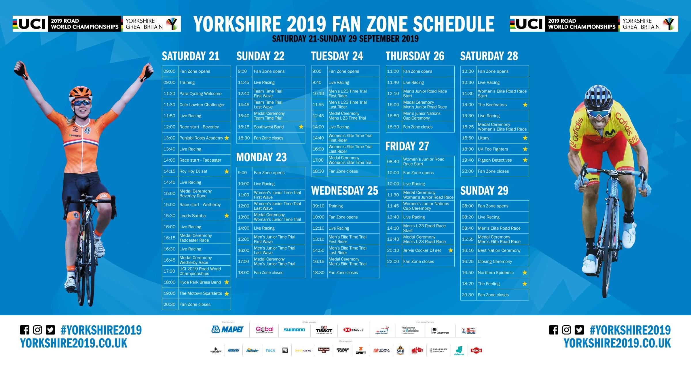 Convocatoria final de la Selección Española para el Mundial de Yorkshire 2019